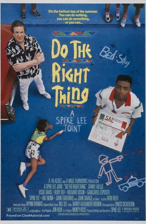 Do The Right Thing - Movie Poster