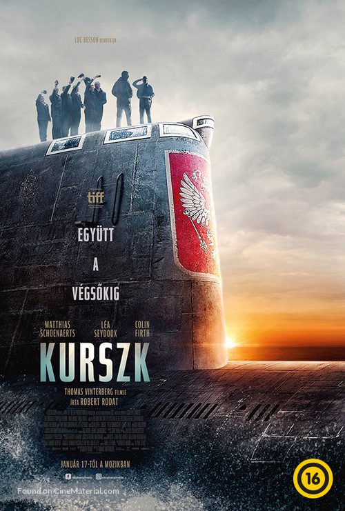 Kursk - Hungarian Movie Poster