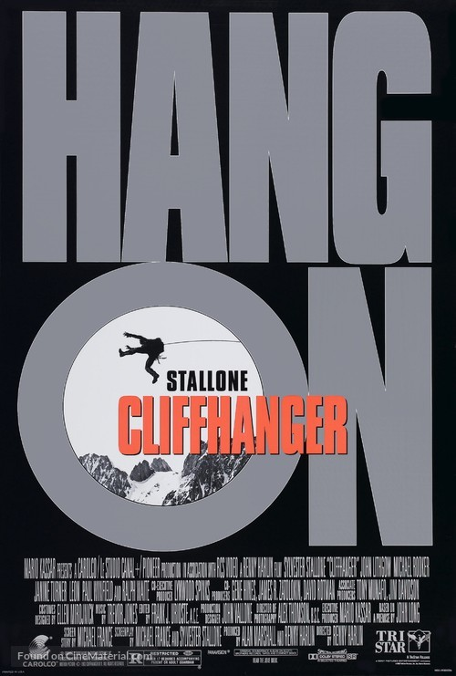 Cliffhanger - Movie Poster
