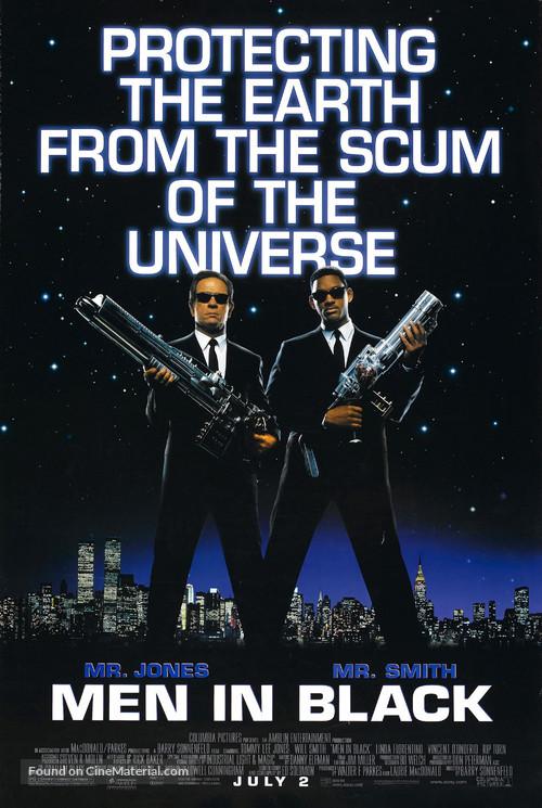 Men In Black - Movie Poster