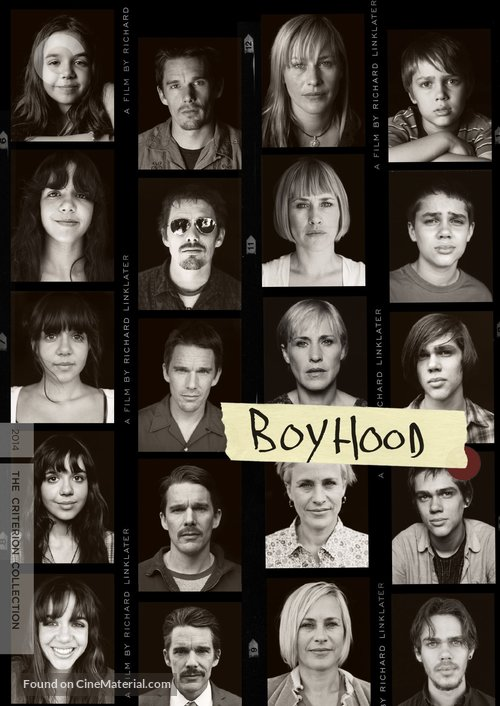 Boyhood - DVD cover