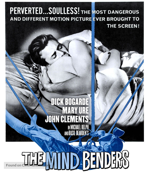 The Mind Benders - Blu-Ray movie cover