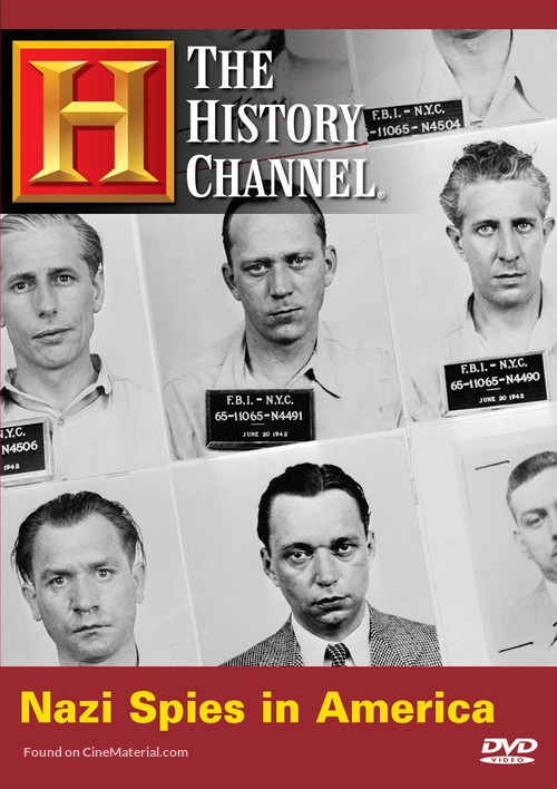 Nazi Spies in America - DVD movie cover