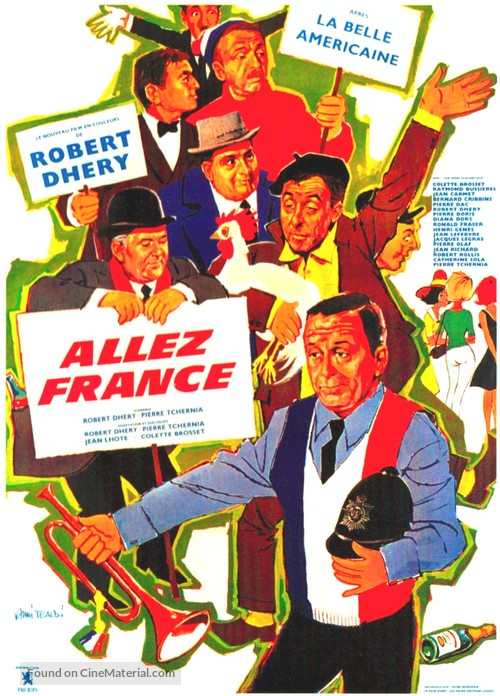 Allez France! - French Movie Poster