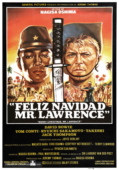 Merry Christmas Mr. Lawrence - Spanish Movie Poster
