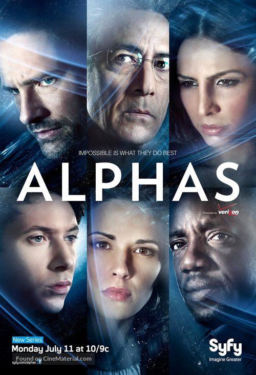 """Alphas"" - Movie Poster"