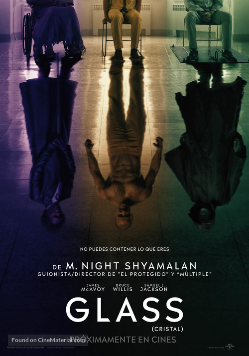 Glass - Spanish Movie Poster