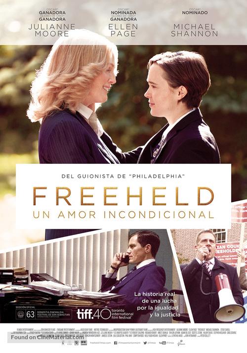 Freeheld - Spanish Movie Poster