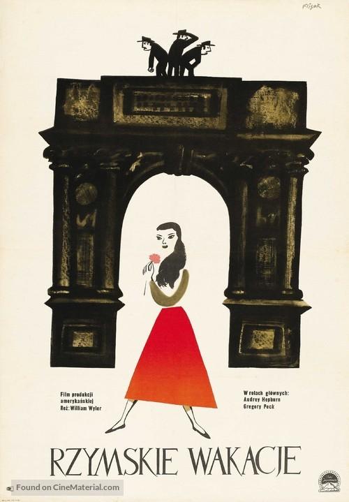 Roman Holiday - Polish Movie Poster