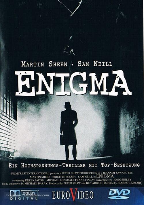 Enigma - German DVD movie cover