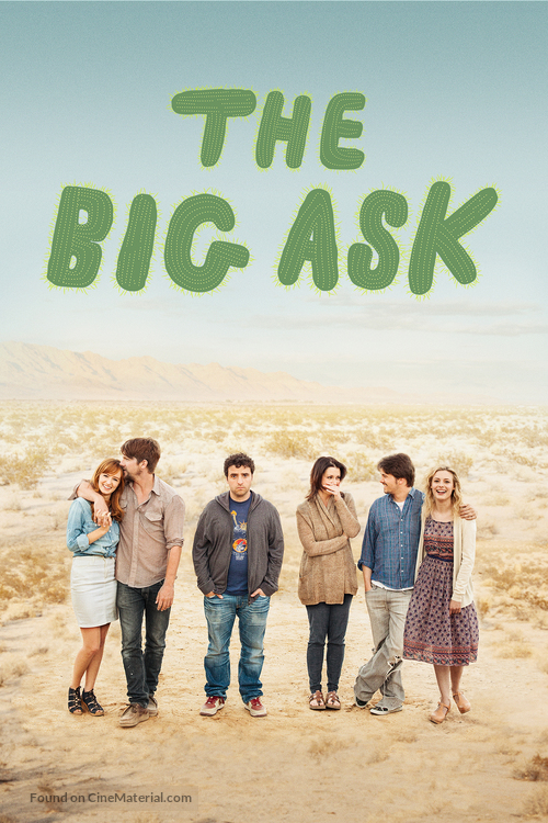 The Big Ask - DVD cover