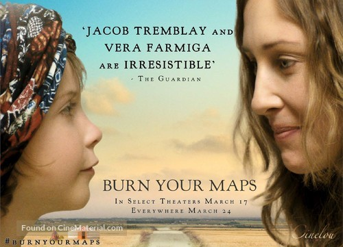 Burn Your Maps - British Movie Poster