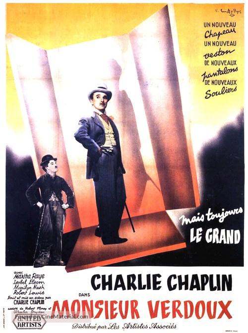Monsieur Verdoux - French Movie Poster