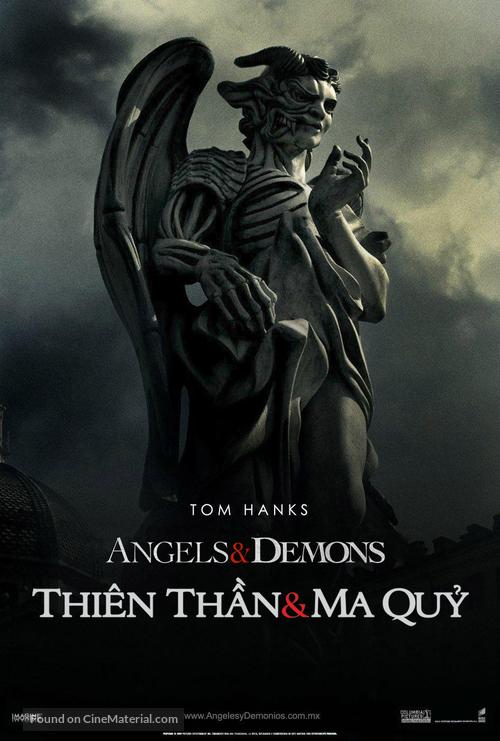 Angels & Demons - Vietnamese Movie Poster