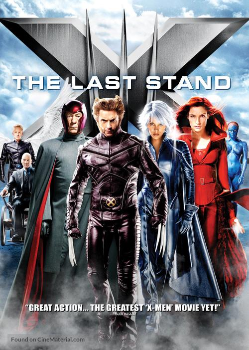 X-Men: The Last Stand - DVD cover