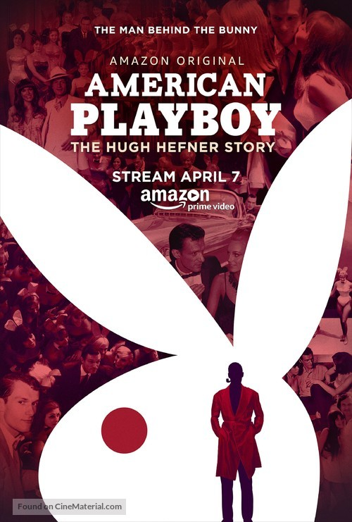 """American Playboy: The Hugh Hefner Story"" - Movie Poster"