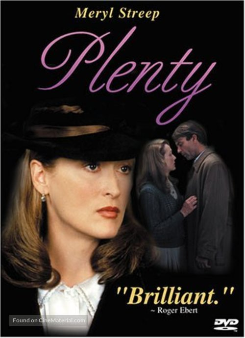 Plenty - DVD cover