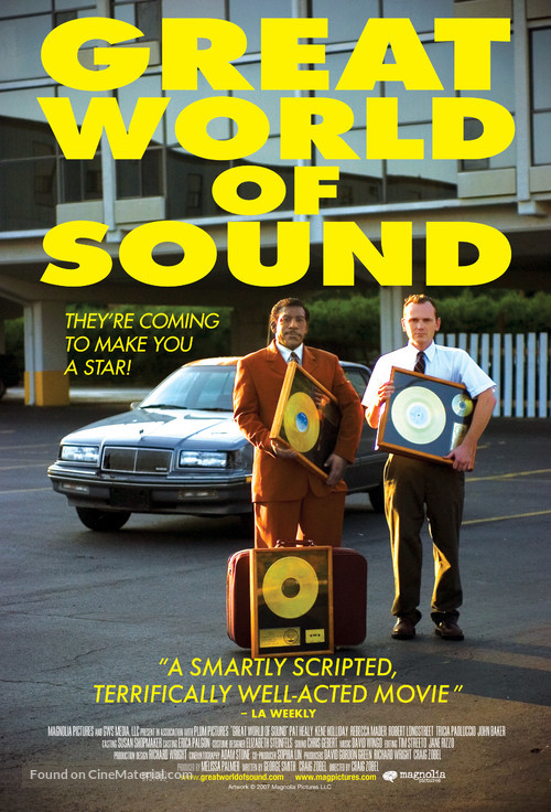 Great World of Sound - Movie Poster