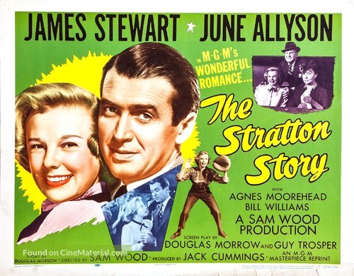 The Stratton Story - Movie Poster