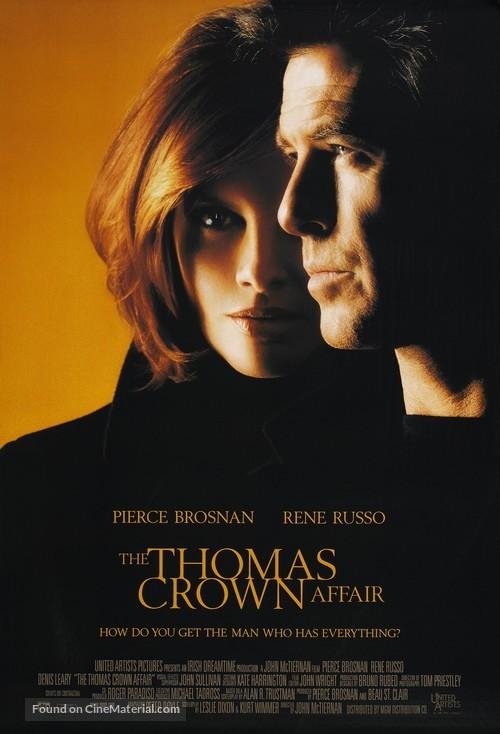 The Thomas Crown Affair - Movie Poster