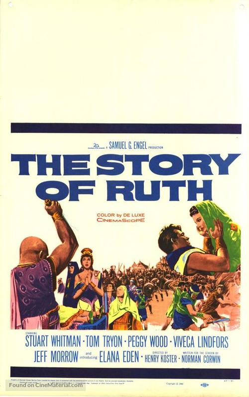 The Story of Ruth - Theatrical movie poster