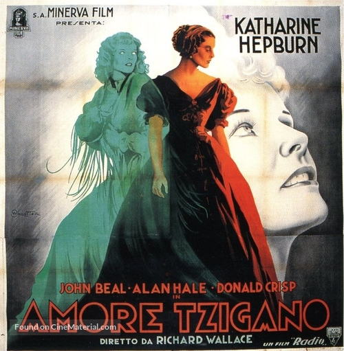 The Little Minister - Italian Movie Poster
