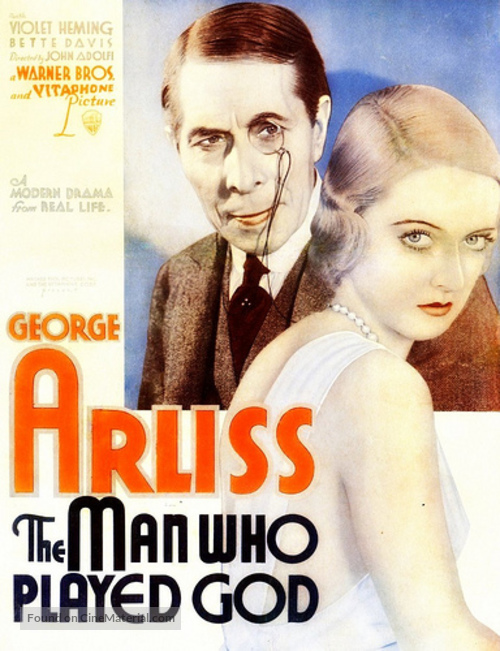 The Man Who Played God - Movie Poster