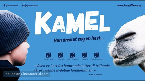 The Arctic Camels - Norwegian Movie Poster