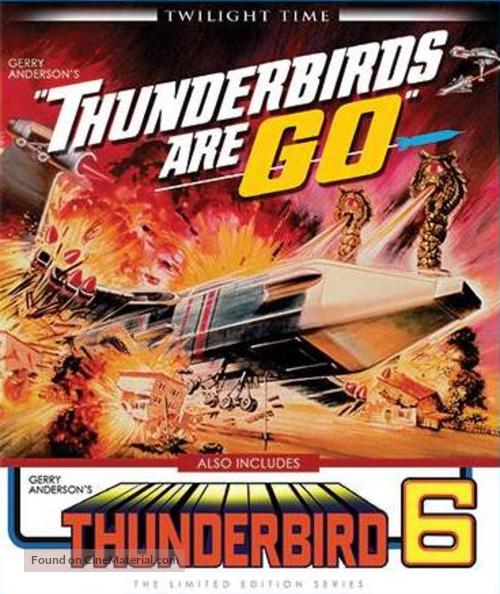 Thunderbirds Are GO - Blu-Ray cover