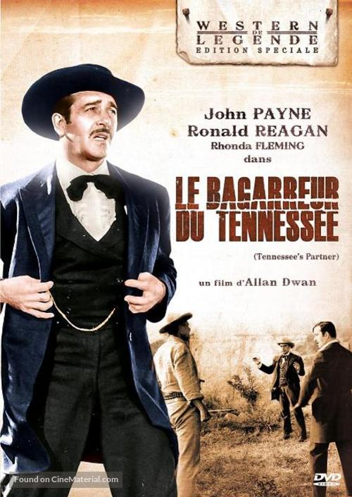 Tennessee's Partner - French DVD movie cover