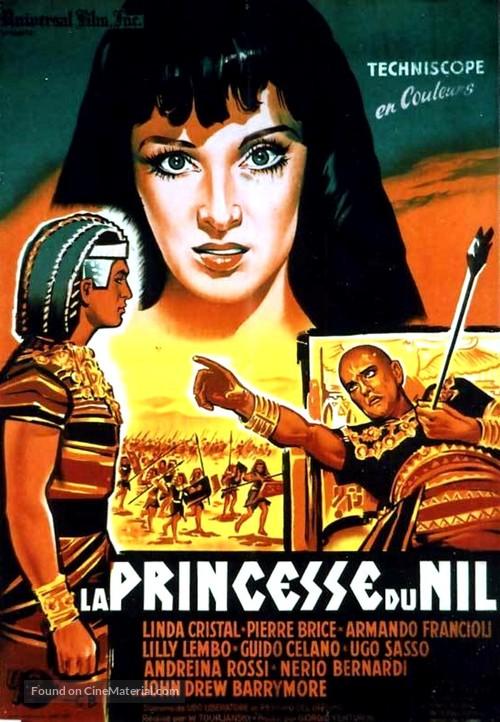La donna dei faraoni - French Movie Poster