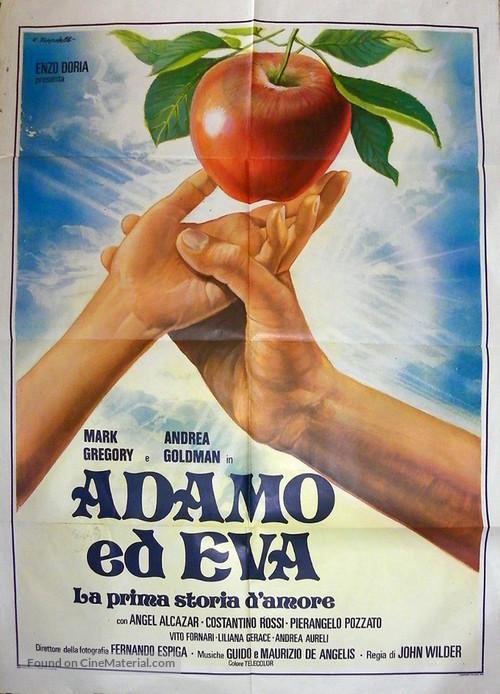 Adamo ed Eva, la prima storia d'amore - Italian Movie Poster