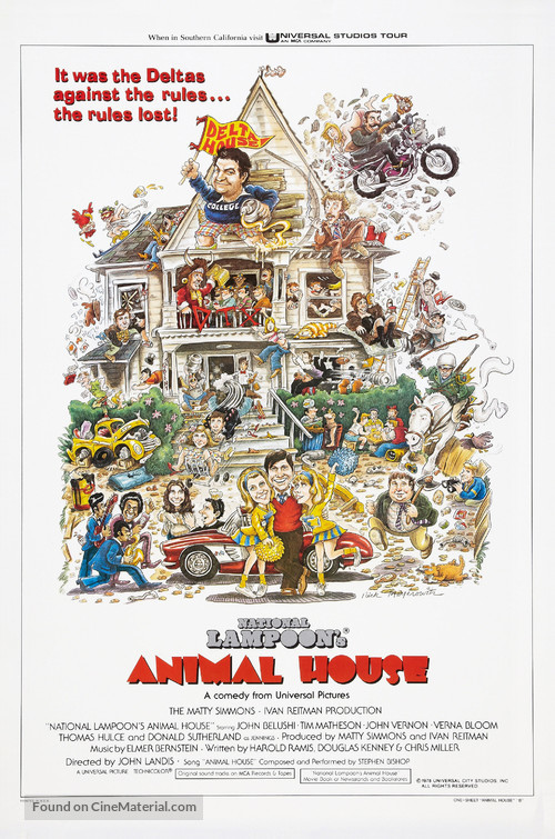Animal House - Movie Poster