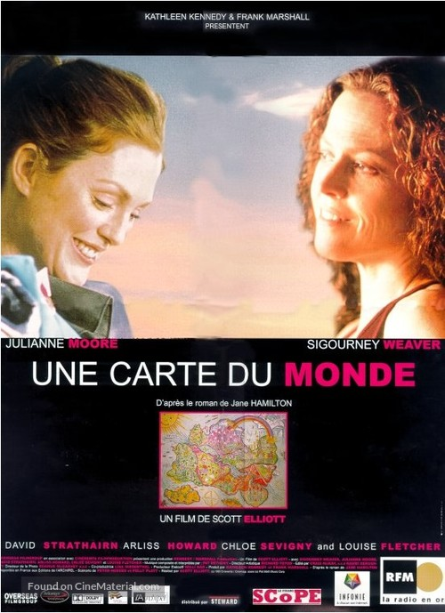 A Map of the World - French poster