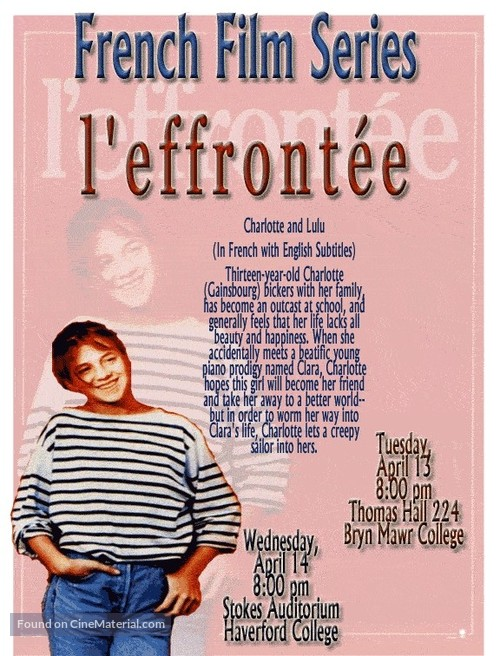 Effrontée, L\' - Movie Poster