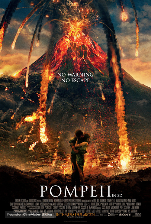 Pompeii - Movie Poster