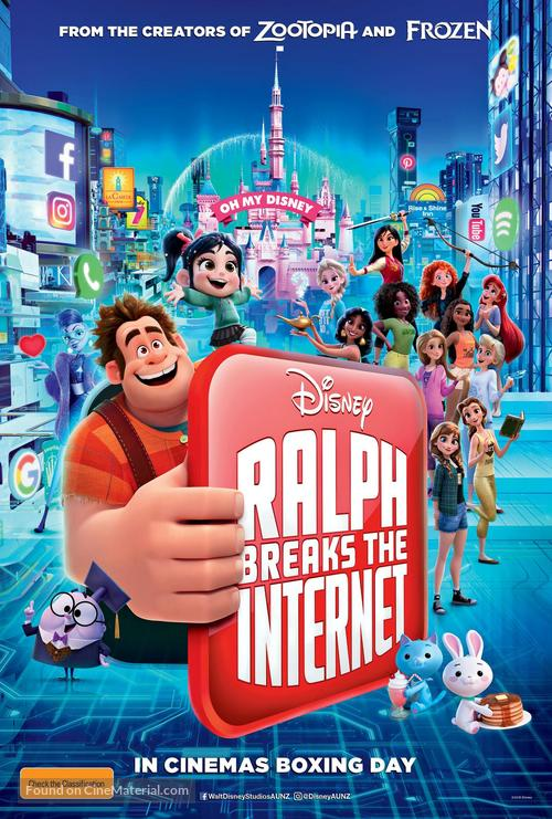 Ralph Breaks the Internet - Australian Movie Poster