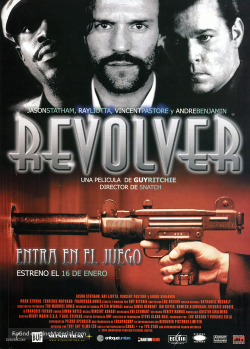 Revolver - Spanish Movie Poster