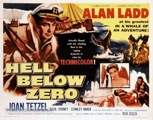 Hell Below Zero - Movie Poster
