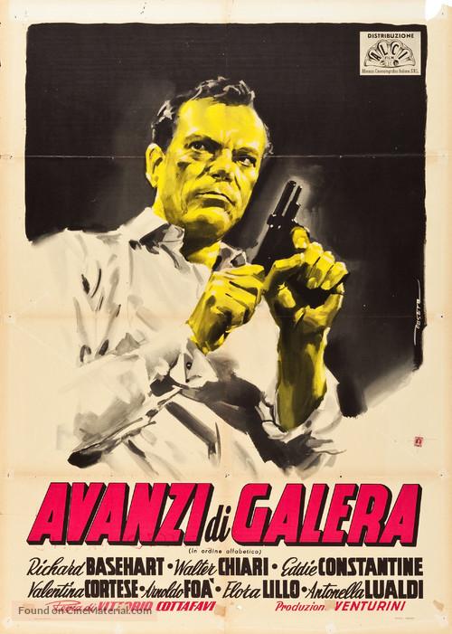 Avanzi di galera - Italian Movie Poster