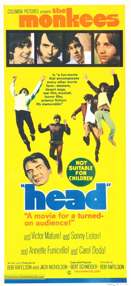 Head - Australian Movie Poster