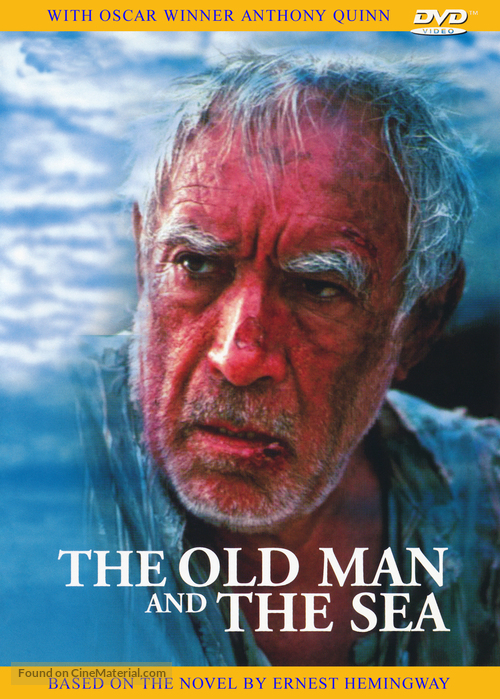 The Old Man and the Sea - British DVD cover