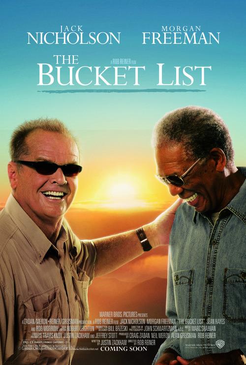 The Bucket List - Advance movie poster