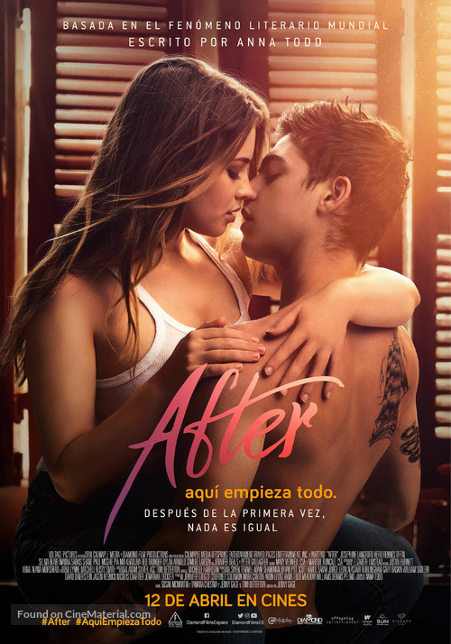 After - Spanish Movie Poster