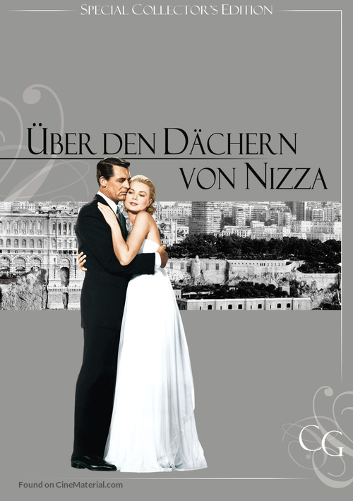 To Catch a Thief - German Movie Cover