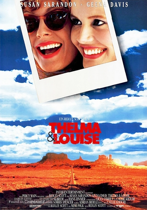 Thelma And Louise - German Movie Poster
