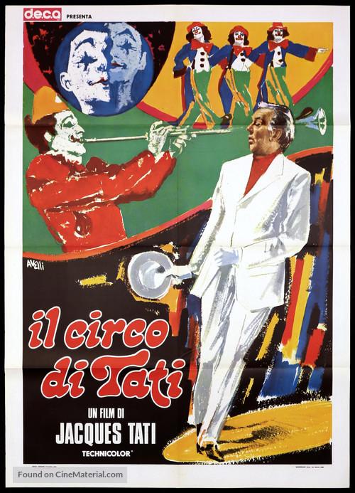 Parade - Italian Movie Poster