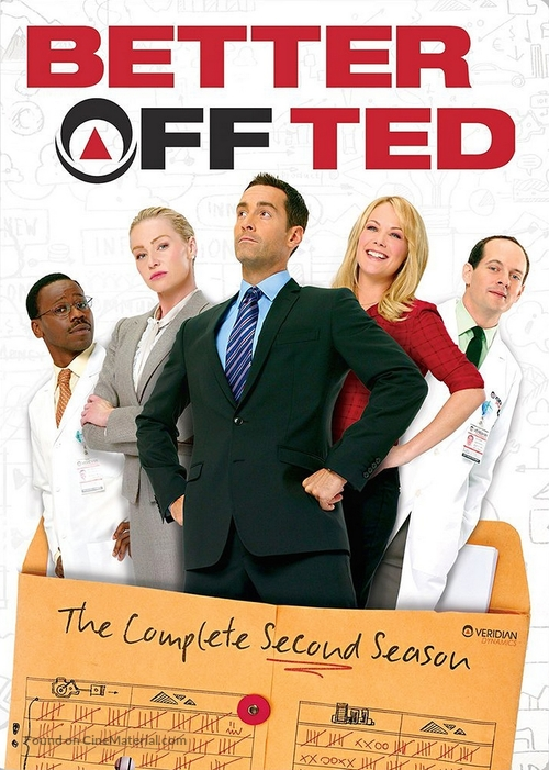 """""""Better Off Ted"""" - Movie Cover"""