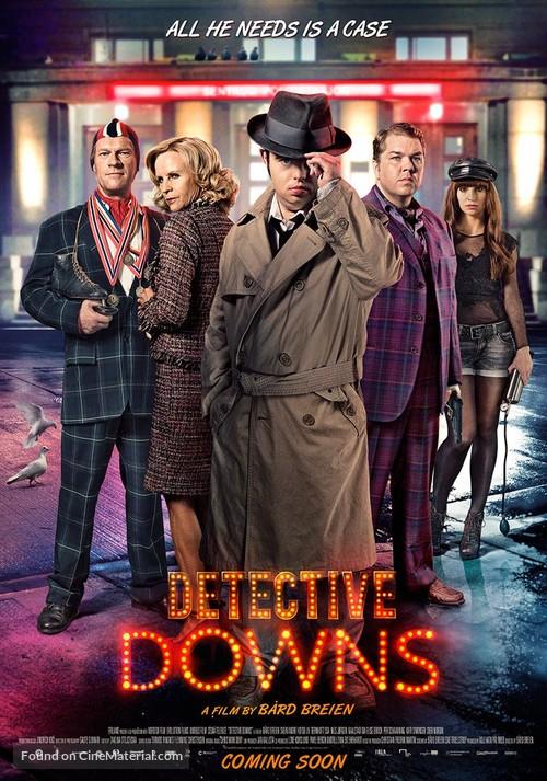 Detektiv Downs - Norwegian Movie Poster
