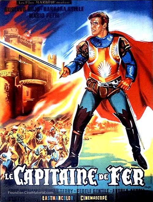 Il capitano di ferro - French Movie Poster